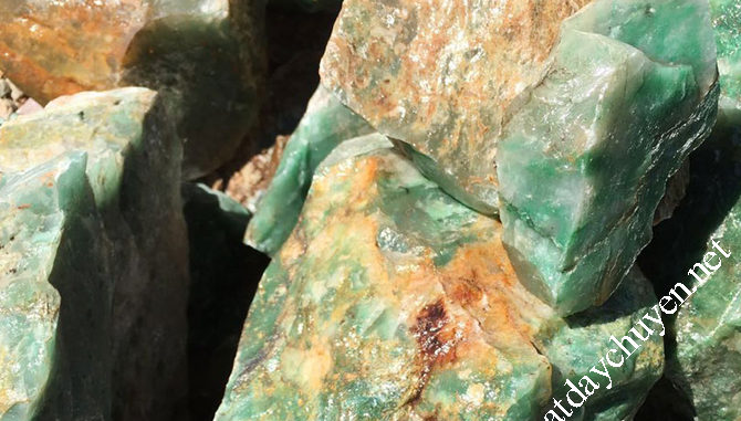 đá thạch anh màu xanh